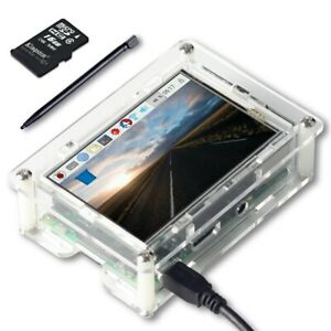 Uctronics 3 5 Tft Lcd Touch Screen W Pen Sd Card Case For Raspberry Pi