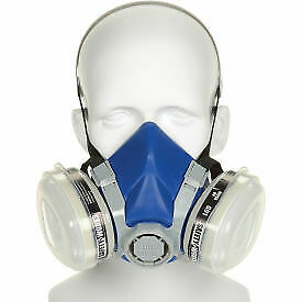 Safety Works Swx00318 Half mask Paint Pesticide Respirator Each 1 Each