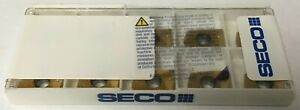Seco Xomx120408 Md13 Grade F40m Carbide Milling Insert 10 Inserts Per Package