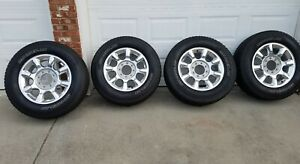 2011 2016 Ford F250 F350 20 8 Lug Factory Oem Wheels And Michelin Tires