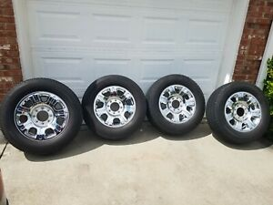Ford F250 F350 20 8 Lug Factory Oem Wheels And Michelin Tires