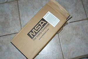Msa 10052779 Cbrn Apr Ultra Elite Facepiece Mask Medium W Speed On Harness New