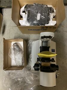 Olympus Microscope Bx41 With Tilting Head For Pathology mohs Bx41tf 4x 10 40 100
