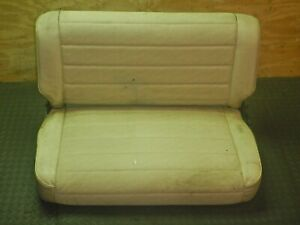 Jeep Wrangler Yj Cj 76 95 Folding Rear Seat Oem Free Shipping