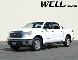 Wellvisors Premium Series Side Window Visors For 07 21 Toyota Tundra Crew Max