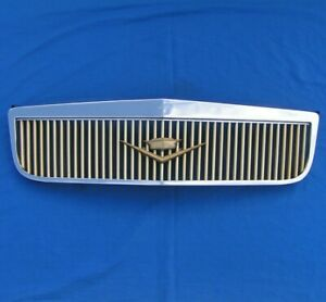 2000 2005 Cadillac Deville Dhs Dts E G Type Chrome Gold Grille Vintage Edition