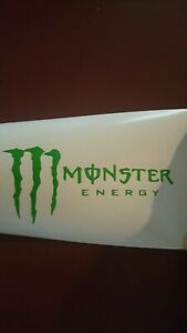 Monster Energy Drink Vinyl Decal Available And More Colors Look In Description