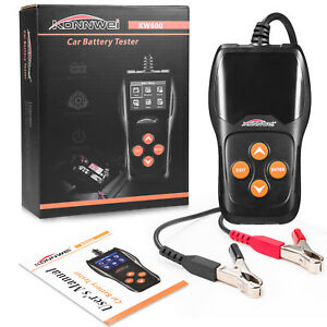 Kw600 Auto Car Battery Tester Charging Cranking System Analyzer For 12v Vehicle