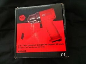 Mac 3 8 Drive Twin Hammer Composite Impact Wrench Aw280q Nos