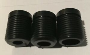 3 Pieces Abs Plastic Gear Shift Knob Thread Adapter Nuts Insert Set Of 3