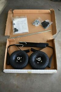 Porter cable Wheel Kit Air Tires Complete With Axle Bolts Handles Fhwk100