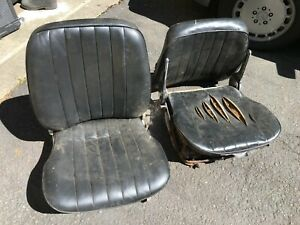 Porsche 356b Or 356c Front Seat Pair With Recliners T5 T6
