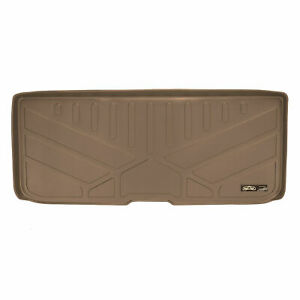 Maxtray 2016 2019 Honda Pilot All weather Cargo Liner Mat Behind 3rd Row Tan