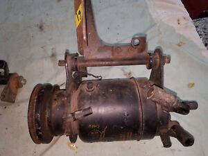 Chevy 348 409 Air Conditioning Compressor With Brackets