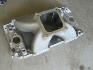 Edelbrock 2897 Chevy Bb Mark Iv Super Victor Ii Manifold Tall Deck Single Plane