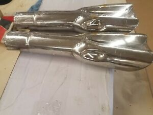1967 1969 Mustang Mach 1 Rolled Tip Exhaust Tips Concourse 390 428 351