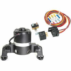 Prw 4435007k Electric Water Pump Relay Kit Small Block Chevy 265 400 Left Inle
