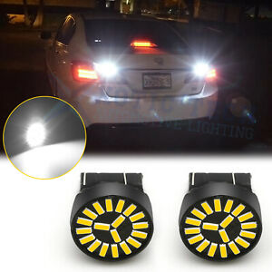 For Honda Accord Civic Crv Fit 2008 12 7440 White Led Backup Reverse Light Bulbs