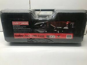 Craftsman Trolley Jack 2 25 Ton 4500 Lbs Capacity With Carrying Case New