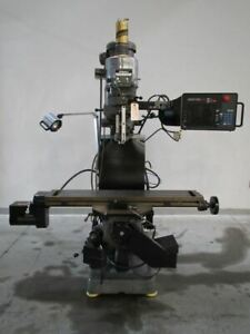 Bridgeport Series I Variable Speed Mill W 2 axis Proto Trak Sm Cnc Control