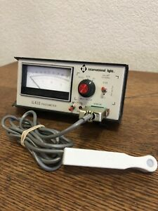 International Light Il410 Photometer With Sc 110 Probe