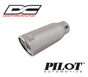 Dc Sports Universal Bolt On Stainless Steel Exhaust Muffler Tip 11 X 4 X 2 9