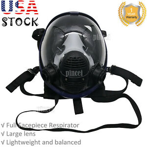 Full Face Gas Mask Full Face Respirator Mask For Painting Spraying Welding Usa