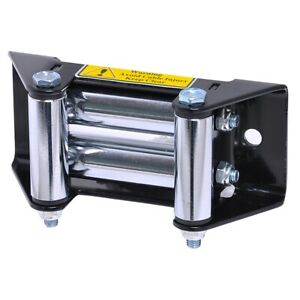 Winch Roller Fairlead Heavy Duty Roller Cable Guide Universal For 3klbs 4klbs
