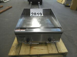 2819 use S d Vulcan Heg e Series Heavy Duty Electric Griddle Model Heg24e 1