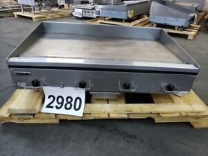 2980 use S d Vulcan Rapid Recovery Heavy Duty Electric Griddle Model Rre48e 1