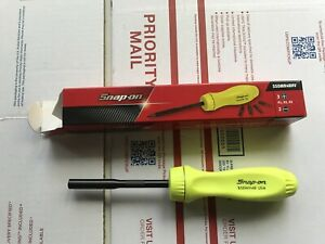 Snap on Ssdmr4b Ratcheting Screwdriver With 5 Bits