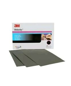 Lot Of 2 3m 02044 Wetordry Sheet 2000 Grit 5 1 2 X 9 Inch 3m 2044 New