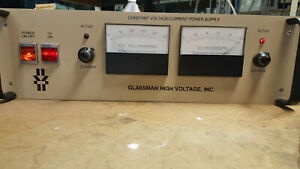 Glassman Ps wh 10p50 xg0 500w 10kv 50ma Adjustable Regulated Power Supply