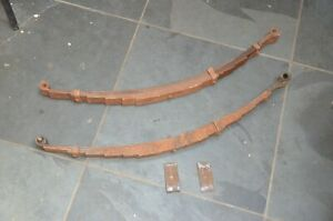 1937 1938 1939 1941 1946 Gmc Chevrolet Pickup Truck Front Leaf Springs