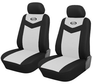 Front Seat Car Seat Covers White For Kia Forte 2010 2019