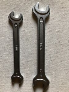 Lot Of 2 Bmw 12 13 Mm 10 8 Open End Wrenches Din 895 Heyco Made In Germany