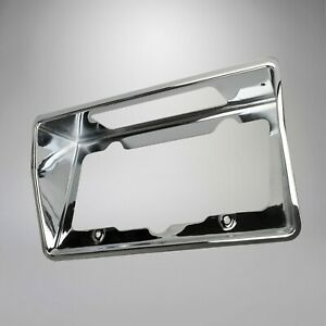 1968 1973 Corvette C3 Rear License Plate Bezel Chrome Finish 601227
