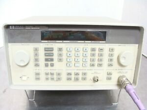 Hp Agilent Keysight 8648d Synthesized Rf Signal Generator 9khz 4ghz Std Opts