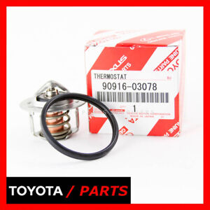 Factory Toyota Pickup 4runner Thermostat With Gasket 9091603078 1634135010 Oem