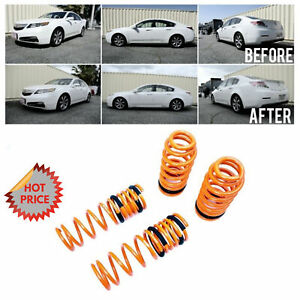 Megan Racing Lowering Springs For 2009 2014 Acura Tl Awd Fwd Mr ls atl09