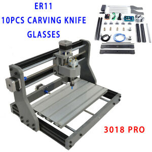 usa diy 3 Axis 3018 Cnc Router Engraver Wood Carving Milling Mini Laser 500mw