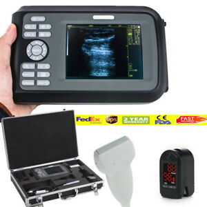 Digital Diagnostic Ultrasound Scanner B Scan linear Probe box battery Human Use