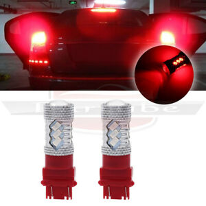 Utterly High Quality 3157 3057 3156 Cree Led Red Turn Signallight 100w 6000lm
