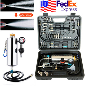 Universal Fuel Injector Cleaner Tester Jet Wash Cleaning Tool For Car Truck Usa