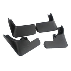 4pcs Black Car Parts Splash Guard Mud Flaps Mudguard Fits Honda Accord 08 13 Udw