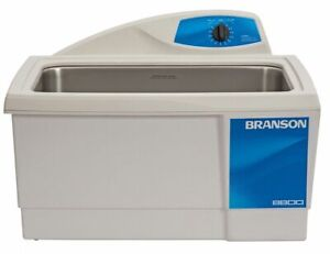 Branson Ultrasonic Cleaner 5 5 Gal Tank Timer Range 0 To 99 Min Continuous