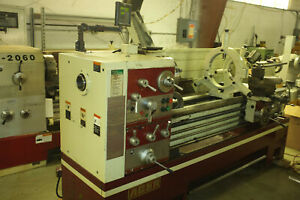 Used 21 X 60 Acer Dynamic 2160gh Engine Lathe Digital Readout Large Spindle