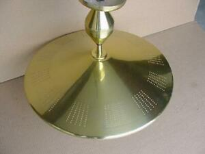 Vintage Mid Century Modern Flying Saucer Chandelier Ceiling Light Atomic Age Spa