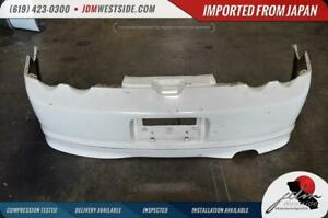 Jdm 2002 2003 2004 Acura Rsx Dc5 Type R Rear Bumper With Type R Lip