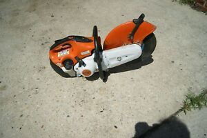 Stihl Ts420 Gas Powered Concrete Cut off Saw